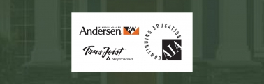 Continuing Education Series: AIA Accredited Classes from Andersen Windows & Weyerhaeuser