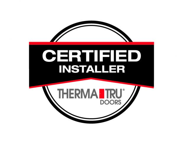 Woodhaven Lumber & Millwork Achieves Certified Installer Status with Therma-Tru Doors.