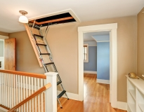 Attic Stairs Image